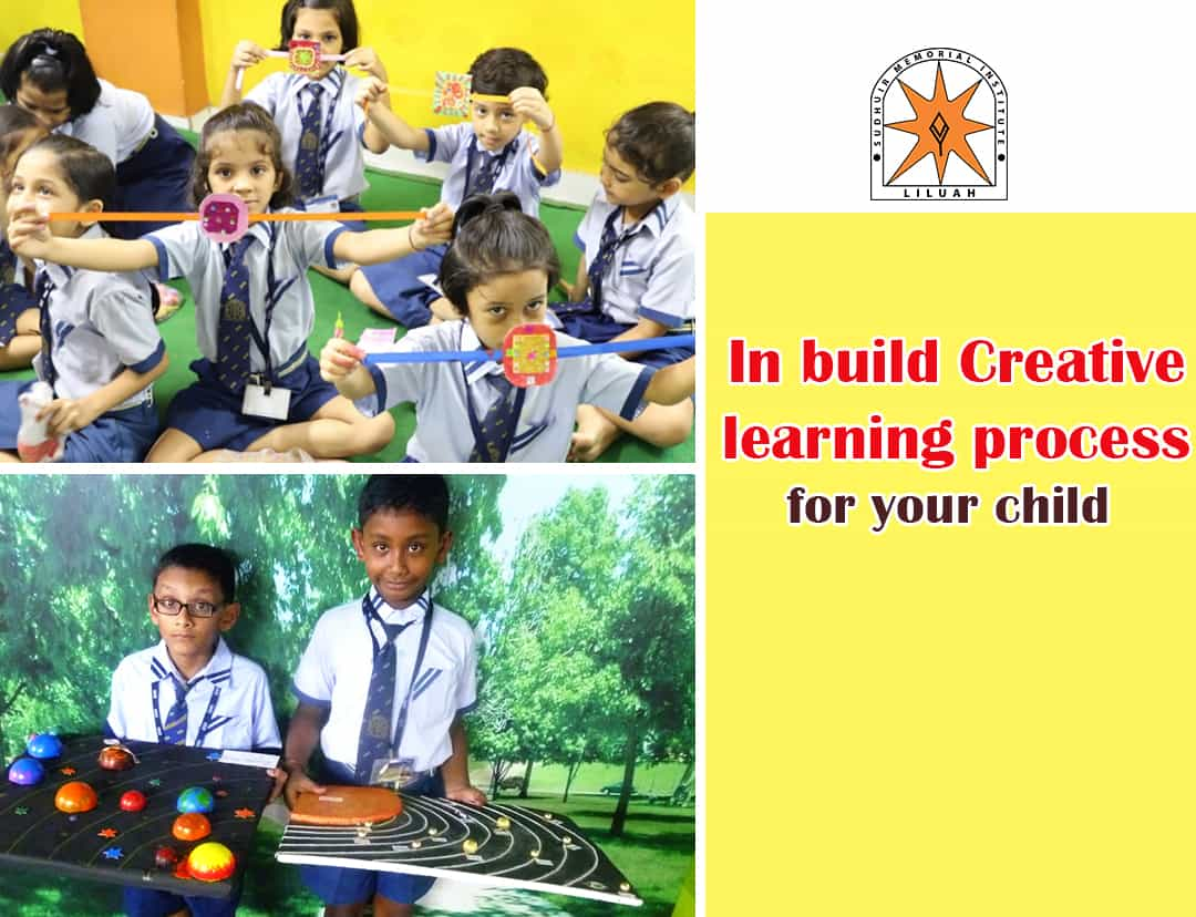 Inbuild creative learning process for your child